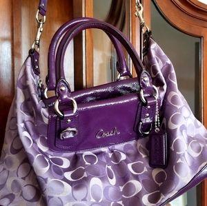 Coach Purse Purple